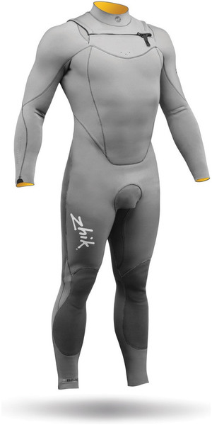 ZHIK SUPERWARM 3MM WETSUIT STEAMER GRAY STM1100