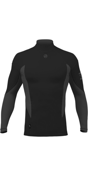 2018 Zhik Long Sleeve Spandex Top NEGRO TOP61