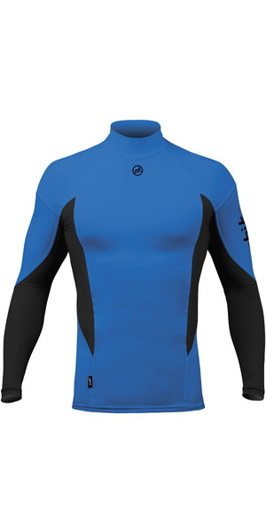 2018 Zhik Long Sleeve Spandex Top CYAN TOP61