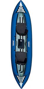 2017 Aquaglide Chinook Tandem 3 Man Kayak AZUL - KAYAK SOMENTE - DEMO DE EX