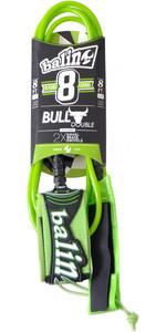 Balin Bull Series 7mm Double Swivel Leash Green - 8ft