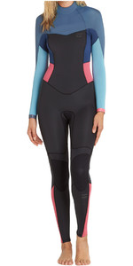 Billabong Synergy 3/2mm Wetsuit Met Back Zip Agave F43b16