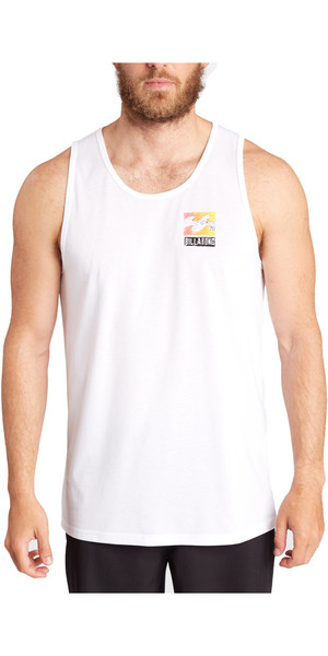 Billabong Singlet Surf Tee WHITE C4EQ03