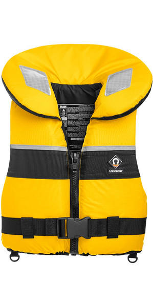 2019 Crewsaver Junior Spiral 100n Life Jacket Yellow Black 2820 Large Child & Junior