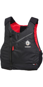 2019 Crewsaver Pro 50N Chest Zip Buoyancy Aid Negro / Rojo 2630