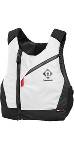 2019 Crewsaver Junior Pro Crewsaver Giubbotto Salvagente Con Chest Zip Bianco 2631j