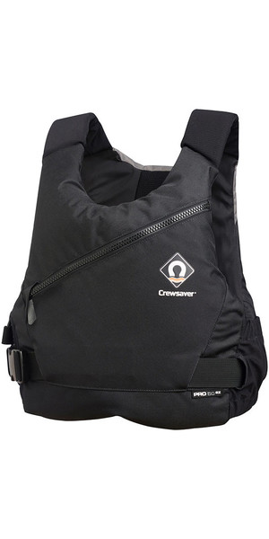 2019 Crewsaver Junior Pro 50N Side Zip Buoyancy Aid Black / Grey 2621J