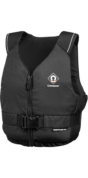 2019 Crewsaver Junior Response 50N Buoyancy Aid Black 2601J