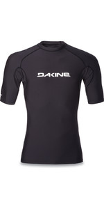 2018 Dakine Heavy Duty Snug Fit Short Sleeve Surf Shirt BLACK 10001018