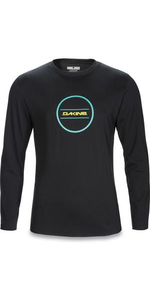 Camiseta de surf de manga larga Dakine Inlet Loose Fit NEGRO 10001019