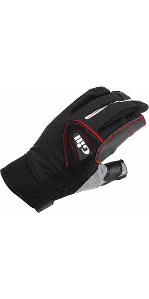 2019 Gill Championship Long Finger Sailing Gloves Black 7252