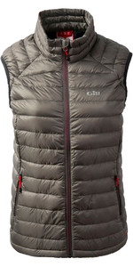 2019 Gill Ladies Hydrophobe Down Gilet in peltro 1063W