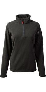 Gill Mesdames Thermogrid Zip Neck Fleece Graphite 1370W