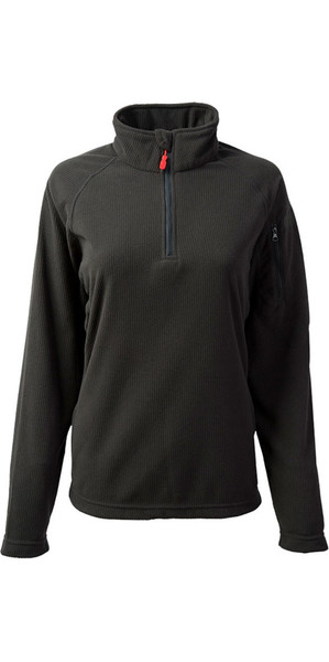 2018 Gill Damen Thermogrid Zip Neck Fleece Graphite 1370W