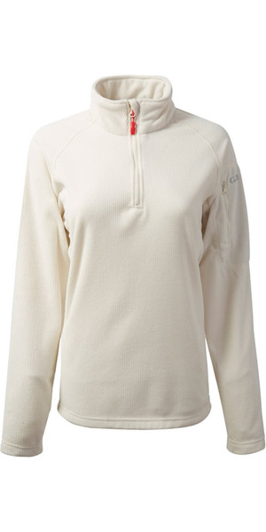2018 Gill Damen Thermogrid Zip Neck Fleece Haferflocken 1370W