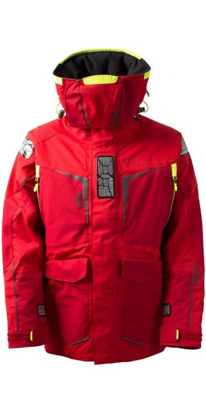 2019 Gill Hommes OS1 Offshore Ocean Jacket en rouge OS12J
