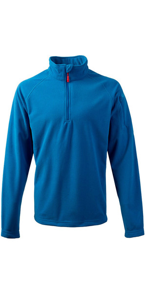 2018 Gill Thermogrid Zip Neck Fleece Blau 1370