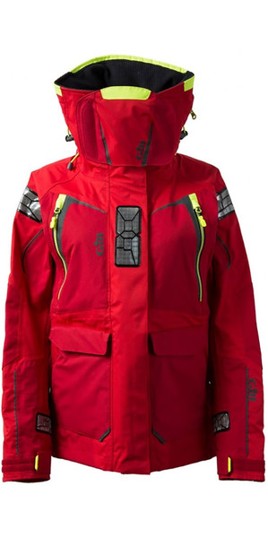 2018 Gill Damen OS1 Offshore Ocean Jacke in RED OS12JW