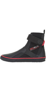 2019 Gul All Purpose Lace 5mm Boot BLACK / RED BO1304-B2