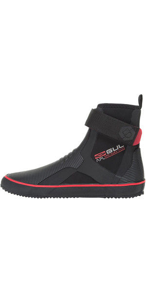 2018 Gul All-purpose Lace 5mm Boot NEGRO / ROJO BO1304-B2