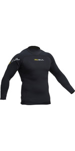 2020 Gul Junior Code Zero 3mm Long Sleeve Thermo Top BLACK AC0116-B2