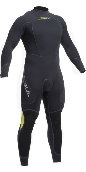 2018 Gul Code Zero 4/3mm Back Zip Relief System Sailing Wetsuit  JET CZ1201-B2