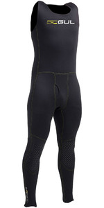 Gul Evotherm Flatlock Thermal Long John In Schwarz Ac0054-a9