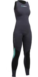 2019 Gul Womens Code Zero 3mm Long John Wetsuit JET CZ4208-B2