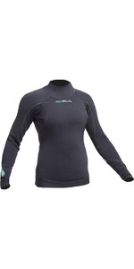 2020 Gul Womens Code Zero 3mm Long Sleeve Thermo Top JET AC0113-B2
