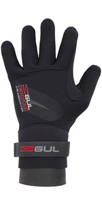 2020 Gul Junior 2.5mm Dry Handschoen Zwart GL1233-A6