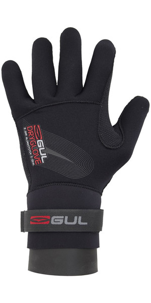 2019 Gul Junior 2.5mm Gant Dry Noir GL1233