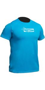 2019 Gul Tee Fit Rash Vest Met Korte Mouwen Crip (blauw) RGB0366-B2