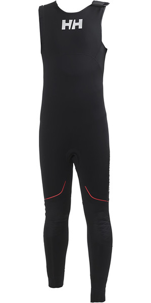 2018 Helly Hansen 3mm Salopettes de neopreno negro 31704