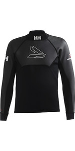 2018 Helly Hansen 3mm Neoprene Top Black 31705