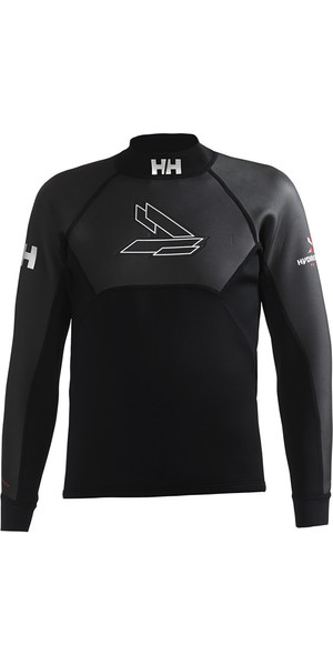 2018 Helly Hansen 3mm Neopreno Top negro 31705
