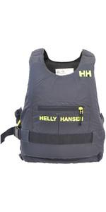 2019 Helly Hansen 50N Rider Race Plus + Drijfhulpmiddel Ebbenhout / Limoen 33823