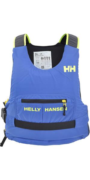 2018 Helly Hansen 50N Rider Race Plus + Ayuda a la flotabilidad Olympian Blue 33823