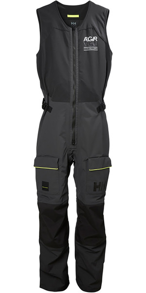 2019 Helly Hansen AEGIR Race Salopette Ebony 33871
