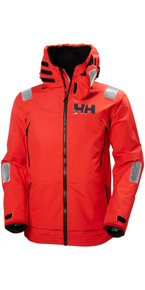 2019 Helly Hansen Aegir Race Jacket Alerte Rouge 33869