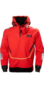 2019 Helly Hansen Aegir Race Smock Alert Red 33870
