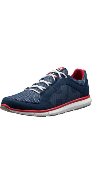 2018 Helly Hansen Ahiga V3 Hydropower Shoe Navy / Flag 11215
