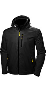 2019 Helly Hansen Crew Hooded Jacket Black 33875
