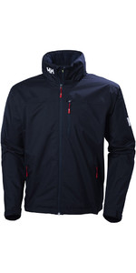 2020 Helly Hansen Crew Hooded Jacket Navy 33875