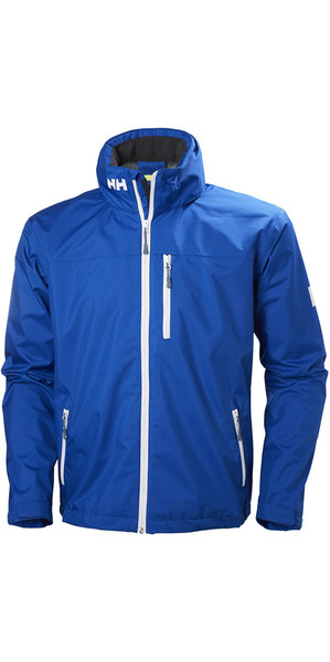 2019 Helly Hansen Crew Hooded jack Olympian Blue 33875