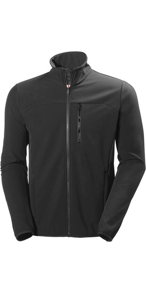 2018 Helly Hansen Crew Softshell Jacket in Ebony 54412