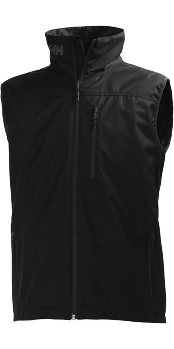 2019 Helly Hansen Crew Vest Black 30270