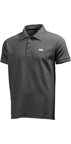 2019 Helly Hansen Driftline Polo Shirt Ebony 50584