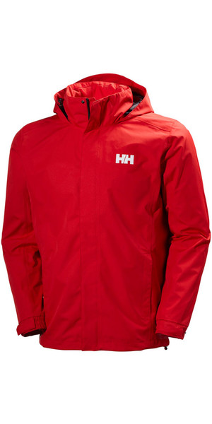 2019 Helly Hansen Dubliner Jacket Flag Rød 62643