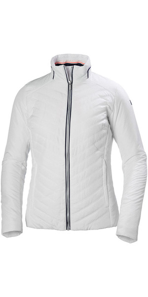2018 Helly Hansen Ladies Crew Isolatorjacke Weiß 53030