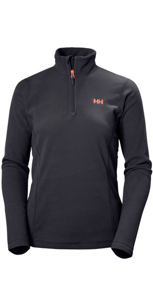 2018 Helly Hansen Ladies Daybreaker 1/2 Zip Fleece Graphite 50845